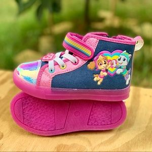 Paw Patrol Toddler Girl High-Top Sneaker Girl Shoe